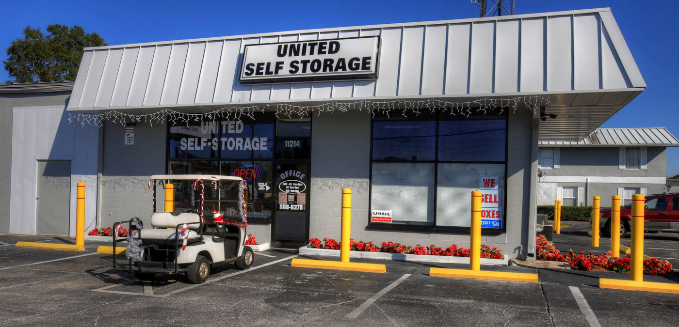 ... boat and rv storage as well as climate controlled a/c dehumidified mini storage with state of the art security. Close EZ access from Port Richey ... & United Self Storage